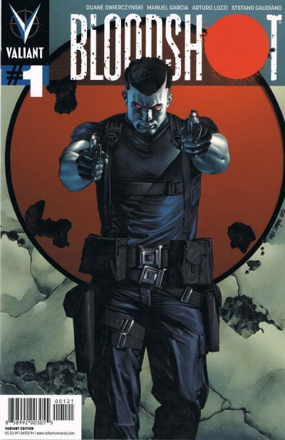 BLOODSHOT (2012) #1 NM COVER B VALIANT