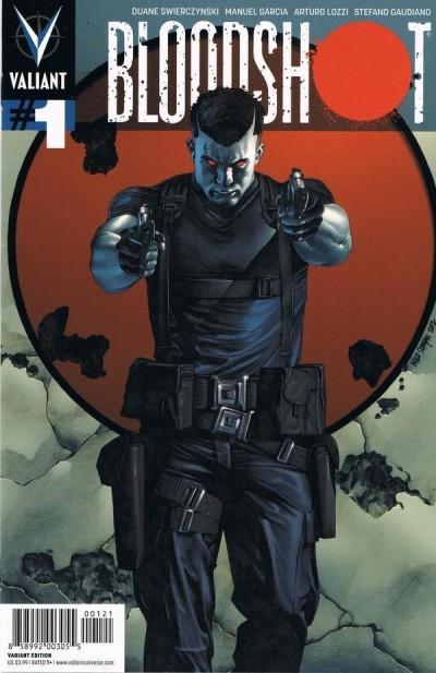 BLOODSHOT (2012) #1 NM COVER B VALIANT