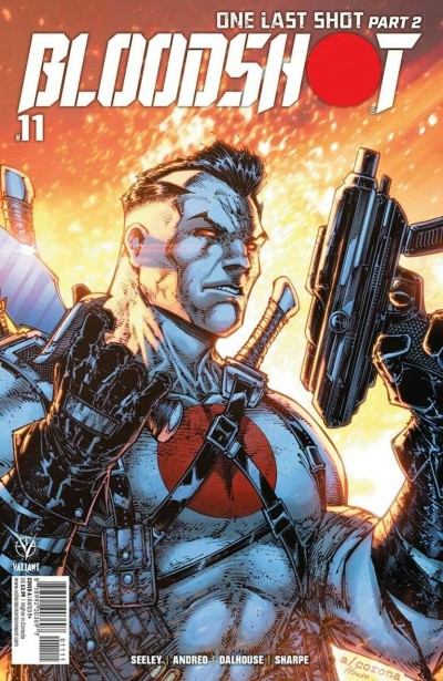 Bloodshot (2019) #11 VF/NM Adelso Corona Cover A Valiant