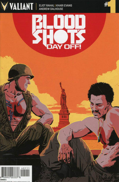 Bloodshot's Day Off (2017) #1 VF/NM Kano Cover Valiant