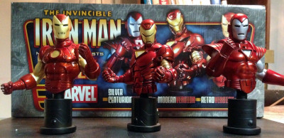 Bowen Iron Man 3 pack bust 2020 Stealth Classic #1218/2500 MIB
