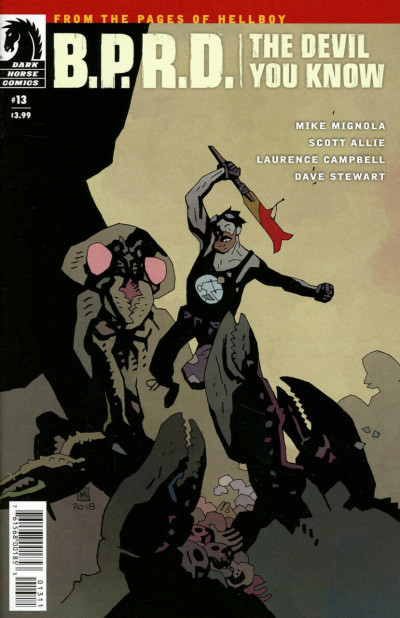 B.P.R.D.: The Devil You Know (2017) #13 VF/NM Mike Mignola