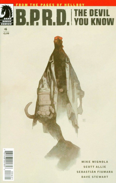B.P.R.D.: The Devil You Know (2017) #6 VF/NM Mike Mignola Variant Cover