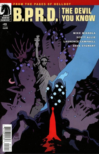 B.P.R.D.: The Devil You Know (2017) #12 VF/NM Mike Mignola