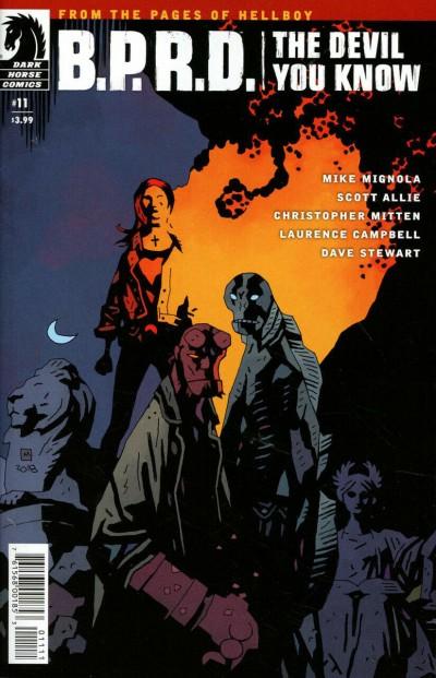 B.P.R.D. The Devil You Know (2017) #11 VF Mignola Dark Horse Comics