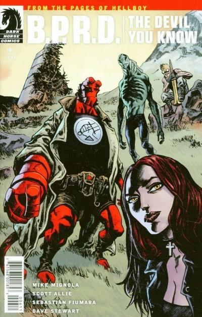 B.P.R.D. The Devil You Know (2017) #6 VF Mignola Dark Horse Comics