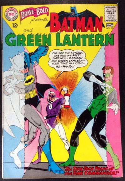 Brave and the Bold (1955) #59 FN/VF (7.0) Batman Green Lantern team up