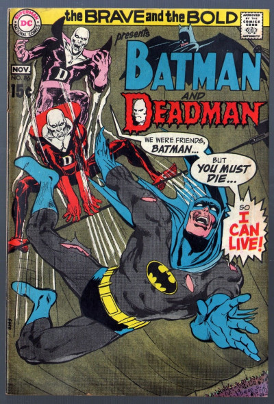 Brave and the Bold (1955) #86 VG/FN (5.0) Batman and Deadman Neal Adams art