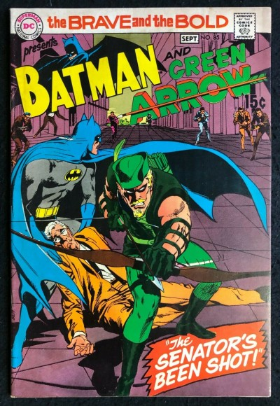 Brave and the Bold (1955) #85 VG/FN (5.0) Batman Green Arrow New Look Neal Adams
