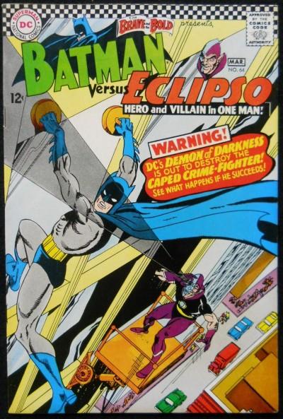 BRAVE AND THE BOLD #74 FN/VF BATMAN VS ECLIPSO