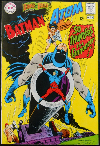 BRAVE AND THE BOLD #77 VF- BATMAN AND THE ATOM
