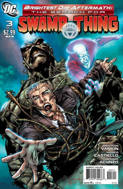 Brightest Day Aftermath: The Search for Swamp Thing (2011) #3 of 3 VF+