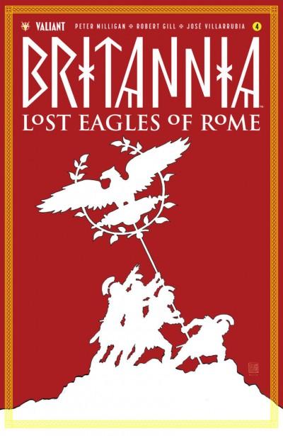 Britannia: Lost Eagles of Rome (2018) #4 VF/NM David Mack Cover Valiant