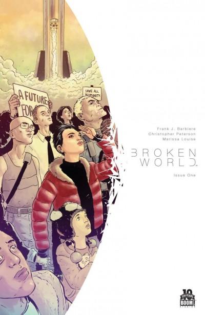 BROKEN WORLD (2015) #1 VF/NM BOOM!