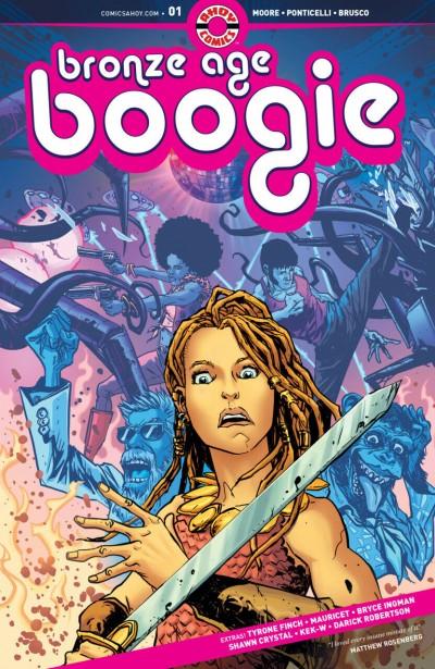 Bronze Age Boogie (2019) #1 VF/NM Darick Robertson Ahoy Comics