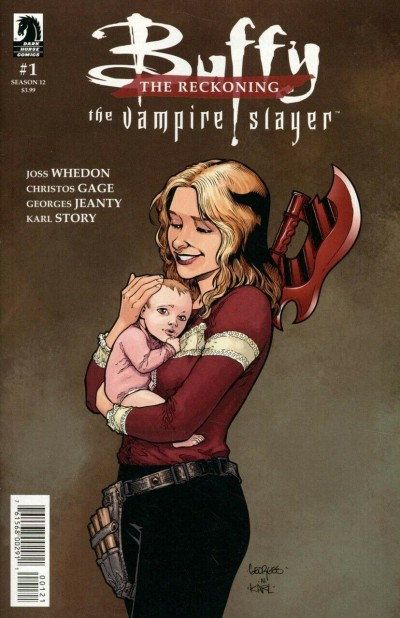 Buffy The Vampire Slayer Season 12 (2018) #1 VF/NM Georges Jeanty Cover DHP