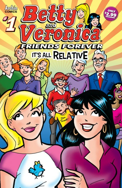 B&V Friends Forever (2018) #9 VF/NM Betty and Veronica Dan Parent Archie
