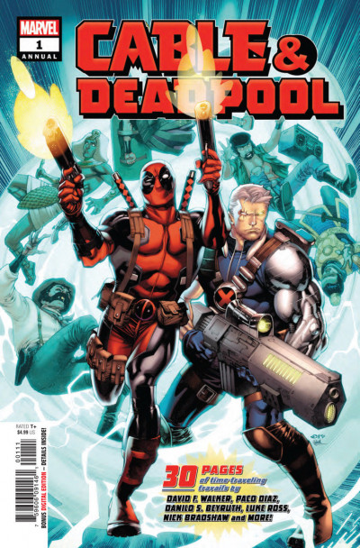 Cable Deadpool Annual (2018) #1 VF/NM Chris Stevens Cover