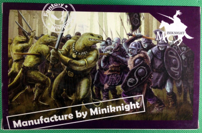 Caesar Miniatures 1/72 scale Lizardmen 11 figures #F107 Miniknight