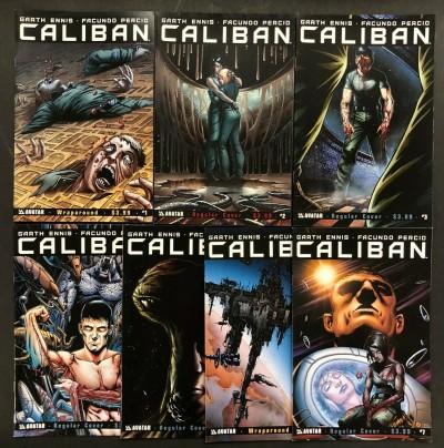 Caliban (2014) #'s 1 2 3 4 5 6 7 Complete Set VF/NM Garth Ennis Avatar