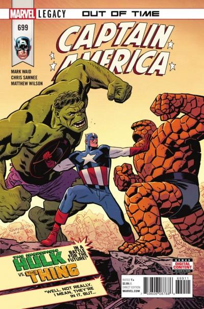 Captain America (2017) #699 VF/NM