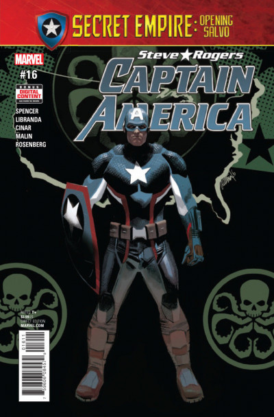 Captain America:Steve Rogers (2016) #16 VF/NM