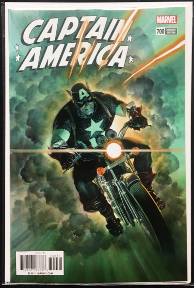 Captain America (2017) #700 NM (9.4) or better Alex Ross variant cover