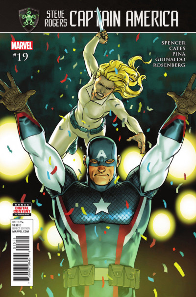 Captain America:Steve Rogers (2016) #19 VF/NM