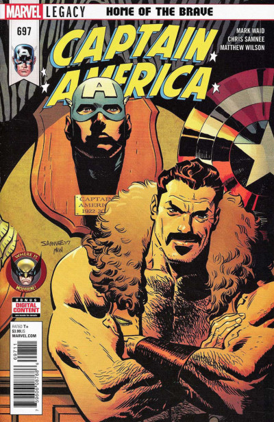 Captain America (2017) #697 VF/NM