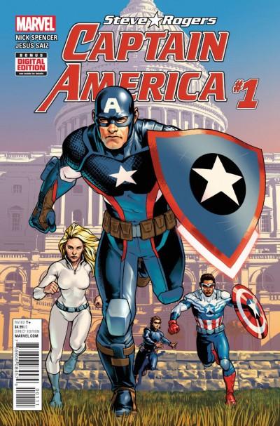 Captain America:Steve Rogers (2016) #1 VF/NM 1st Printing