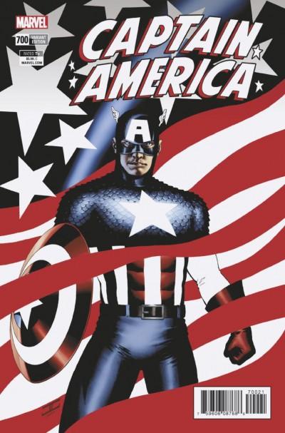 Captain America #700 Regular + Alex Ross + Steranko + Cassaday + Venom Cover Set