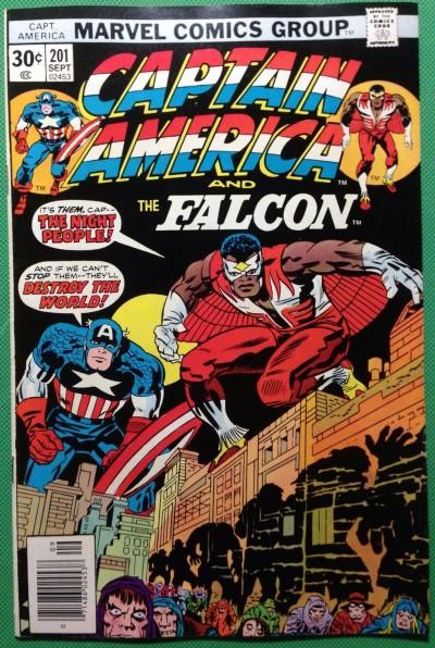 Captain America (1968) & Falcon #201 NM- (9.2)