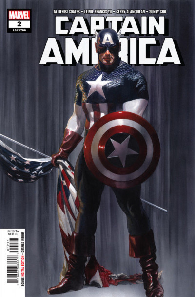 Captain America (2018) #2 (706) VF/NM Alex Ross Cover