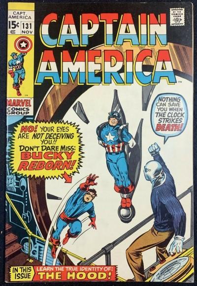Captain America (1968) #131 FN+ (6.5) Bucky Reborn Baron Strucker