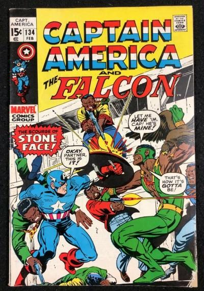 Captain America (1968) #134 VG+ (4.5) with Falcon
