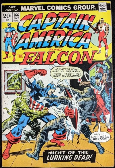 Captain America (1968) #166 FN+ (6.5) vs Yellow Claw pt 2 of 3