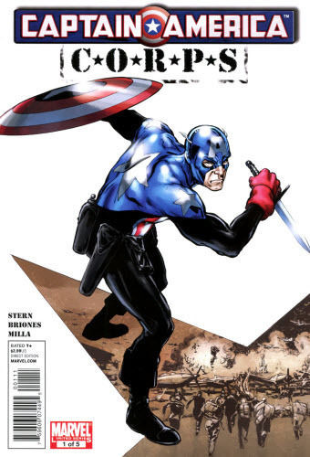CAPTAIN AMERICA CORPS #1 OF 5 NM