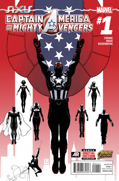 CAPTAIN AMERICA & THE MIGHTY AVENGERS (2014) #1 VF/NM MARVEL NOW!