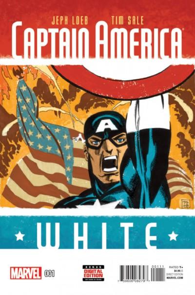 CAPTAIN AMERICA White #1 VF/NM Jeph Loeb Tim Sale