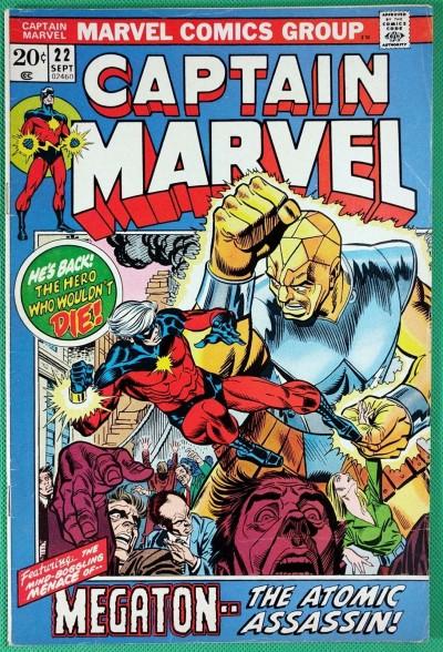 Captain Marvel (1968) #22 FN/VF (7.0)