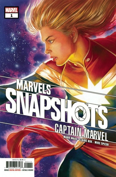 Captain Marvel: Marvels Snapshots (2021) #1 VF/NM Alex Ross Captain Marvel Cover