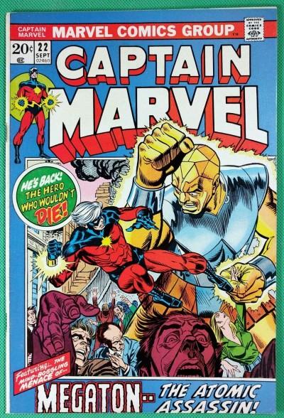Captain Marvel (1968) #22 VF (8.0)