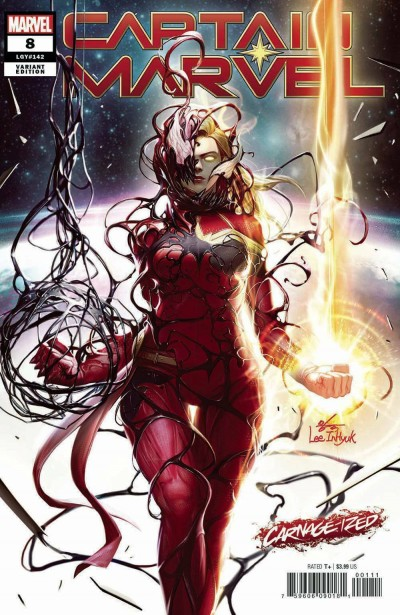 Captain Marvel (2019) #8 VF/NM 1st App Star Regular Secret Blood & Carnage-Ized
