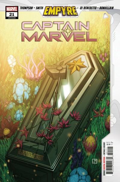 Captain Marvel (2019) #21 VF/NM