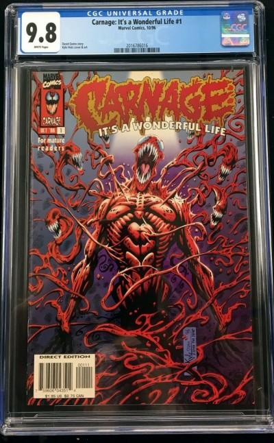Carnage It's a Wonderful Life (1996) #1 CGC 9.8 (2016786016)