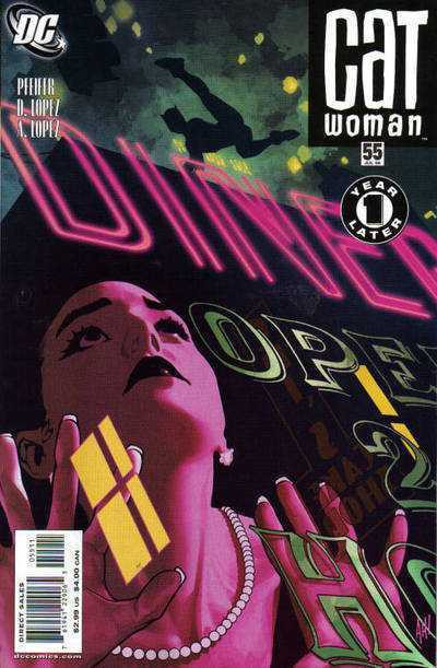 Catwoman (2002) #55 NM Adam Hughes Cover