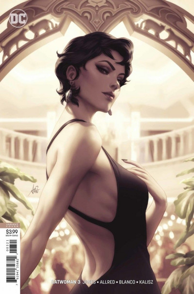 Catwoman (2018) #3 VF/NM Artgerm Sexy Variant Cover