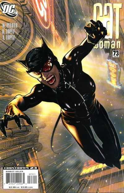 Catwoman (2002) #73 NM Adam Hughes Action Cover