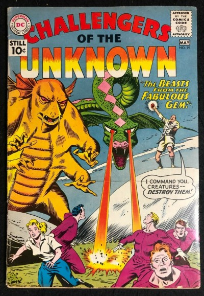 Challengers of the Unknown (1958) #19 FN (6.0)
