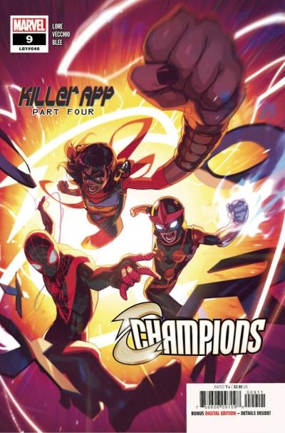 Champions (2020) #9 (#46) VF/NM Toni Infante Cover
